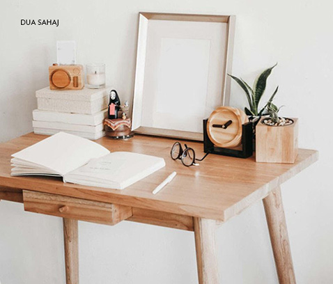 Collection of home workspace by our artisanal and responsible sellers from Qalara